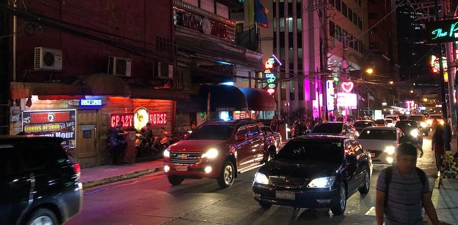 Rotlichtviertel in Manila